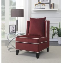 Franklin Red Accent Chair