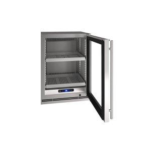 "U-Line24"" Refrigerator With Stainless Frame Finish (115 V/60 Hz Volts /60 Hz Hz)"