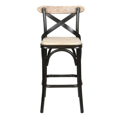 Powell Counter Stool Antique White