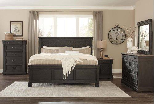 Tyler Creek - Black/Gray 2 Piece Bedroom Set