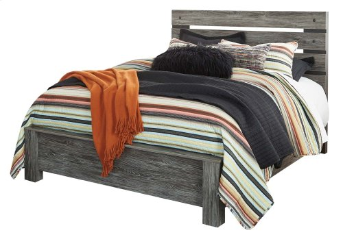 Cazenfeld - Black/Gray 3 Piece Bed Set (Queen)