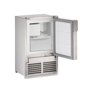 "U-Line14"" Crescent Ice Maker With Stainless Solid Finish (115 V/60 Hz Volts /60 Hz Hz)"