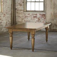 "Bench*Made Maple 108"" Farmhouse Table"