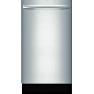 "BoschADA 18"" 800 Series Bar Hndl, 6/5 Cycles, 3rd Rck, 44 dBA, RckMatic,10 Pl Stgs, InfoLight - SS"