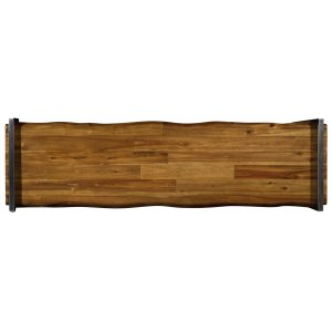 Living Room Live Edge Console Table