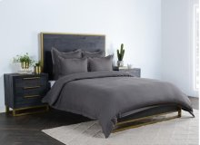 Harlow Charcoal Queen Duvet 92x90