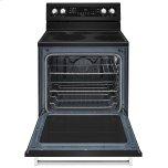 Kitchenaid 30-Inch 5-Element Electric Convection Range Black