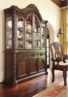 North Shore - Dark Brown 2 Piece Dining Room Set Product Image