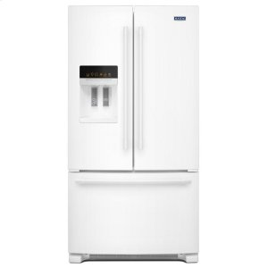 Maytag36- Inch Wide French Door Refrigerator with PowerCold® Feature - 25 Cu. Ft.