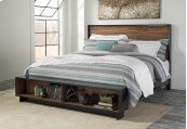 Stavani - Black/Brown 4 Piece Bed Set (King)