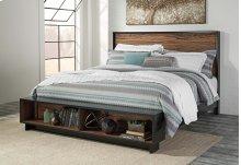 Stavani - Black/Brown 4 Piece Bed Set (King)