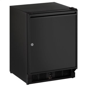 "U-Line 21"" Refrigerator With Black Solid Finish (115 V/60 Hz Volts /60 Hz Hz)"