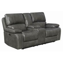 Ravenna Casual Charcoal Power^2 Loveseat