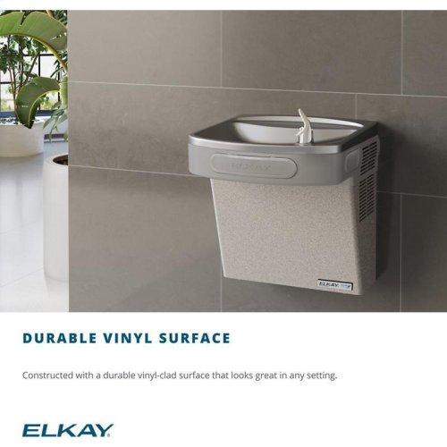 Elkay Cooler Wall Mount GreenSpec ADA Non-Filtered, 8 GPH Light Gray Granite