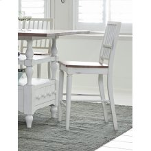 Counter Chair (2/Carton) - Light Oak/Distressed White Finish