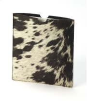 A simple leather case for your Tablet or ipad will protect against scratching and dust in a very fashionable way! The natural hair on hide leather has a beautiful color and texture, and interior is soft and flexible! The spotted design will be unique for Product Image