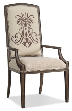 Dining Room Rhapsody Insignia Arm Chair