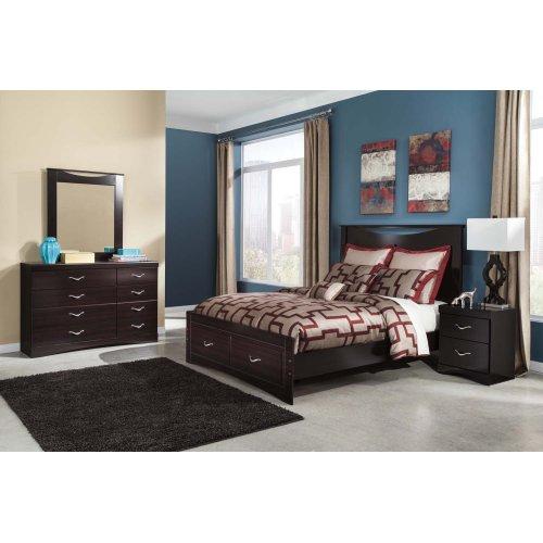 Zanbury - Merlot 2 Piece Bedroom Set