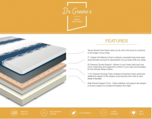Dr Greene's - Ideal Mattress - Luxury Firm