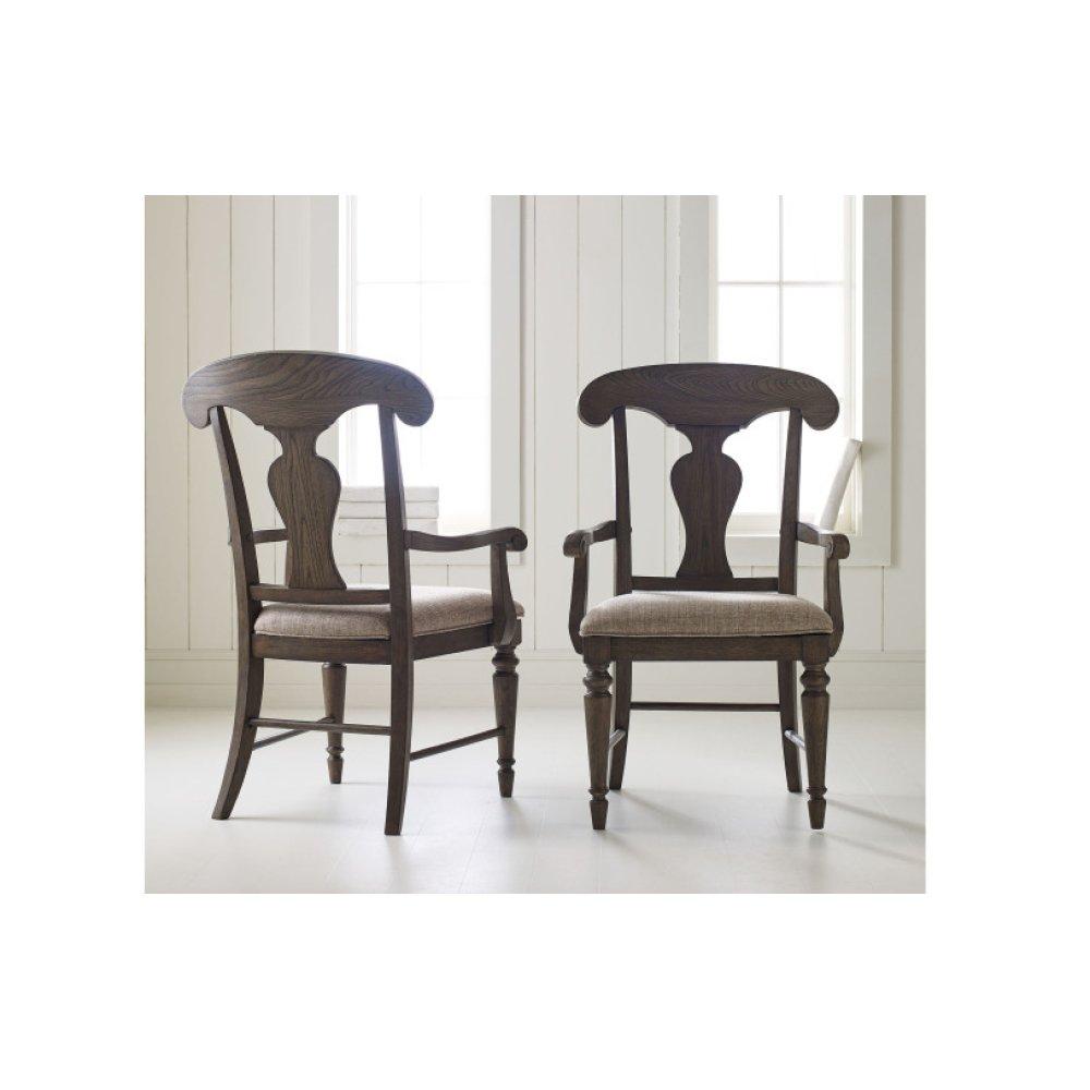 Brookhaven Splat Back Arm Chair