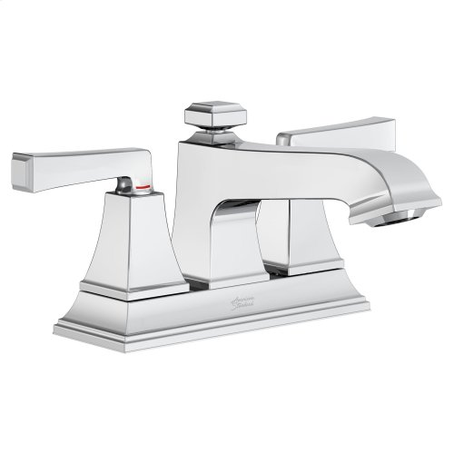 Town Square S Centerset Faucet with Red/Blue Indicators - Less Drain American Standard - Polished Chrome