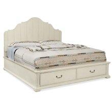 Bedroom Sturbridge Queen Panel Bed w/ Storage Footboard