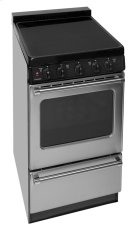 20 in. Freestanding Smooth Top Electric Range in Stainless Steel Product Image
