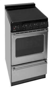 20 in. Freestanding Smooth Top Electric Range in Stainless Steel
