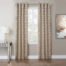 Batavia 50x84 Grommet Top Panel Weighted Corners Taupe