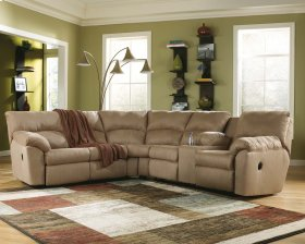 Amazon - Mocha 2 Piece Sectional