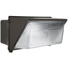 LED Wall Pack; 120 Watt; Bronze Finish; 120-277V
