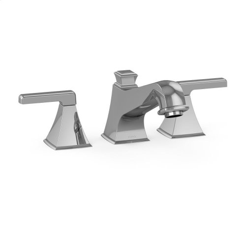Connelly Three-Hole Roman Filler Trim - Polished Chrome Finish