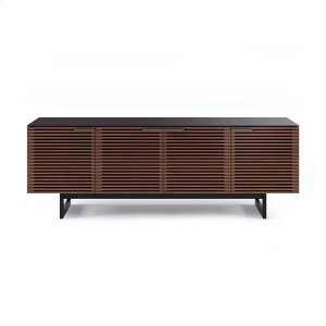 Quad Width Cabinet 8179 in Chocolate Stained Walnut -