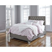 Coralayne - Silver 2 Piece Bed Set (Full)