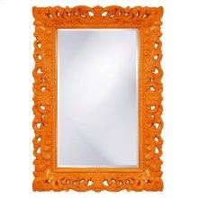Barcelona Mirror - Glossy Orange