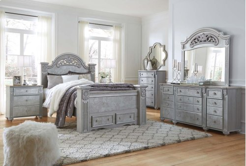 Zolena - Silver 2 Piece Bedroom Set