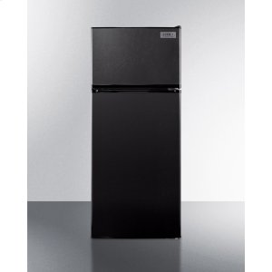 SummitEnergy Star Qualified ADA Compliant Refrigerator-freezer In Black With Frost-free Operation