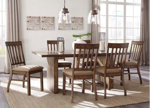 Zilmar - Medium Brown Set Of 2 Dining Room Chairs