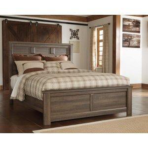 Ashley Furniture Juararo - Dark Brown 3 Piece Bed Set (Queen)