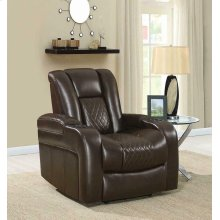 Delangelo Brown Power Motion Recliner