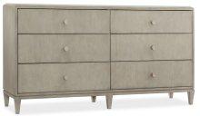Bedroom Elixir Six-Drawer Dresser