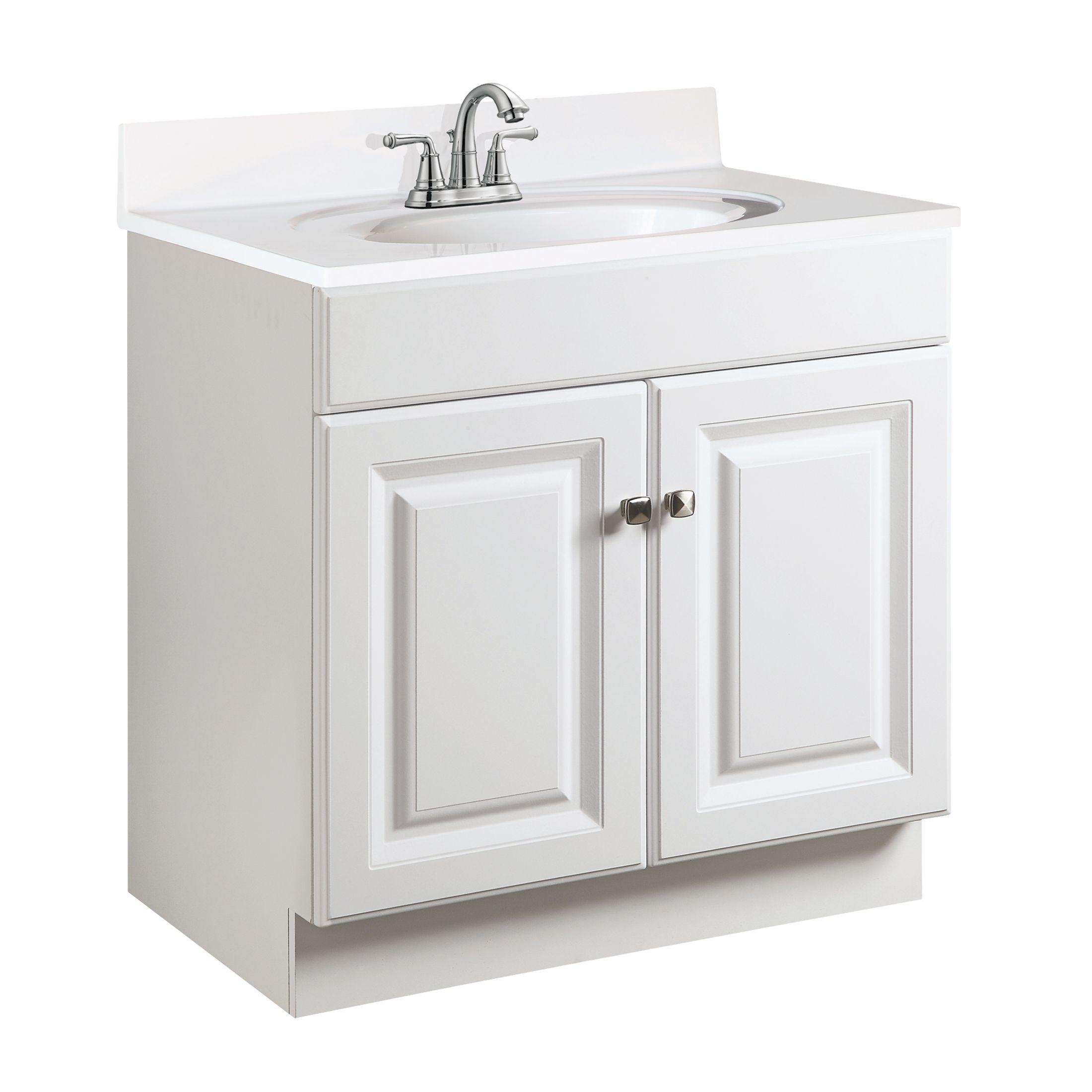 """Wyndham 2-Door Vanity 30"""", White #531947"""