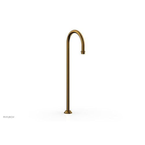MAISON Floor Mount Spout 164-52 - French Brass