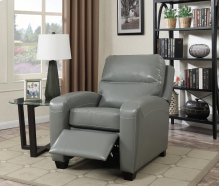 Yukon Gray Push-Back Recliner Chair