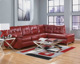 Alliston Salsa Sectional (Right Side Chaise)