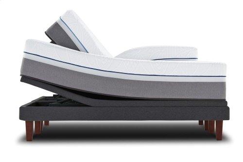 Posturepedic Premier Hybrid Series - Cobalt - Firm - Queen Mattress and Foundation