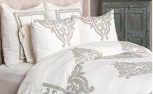 Patrina Ivory Queen Duvet 92x90