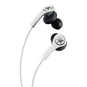 YamahaEPH-M200 White High-performance Earphones with Remote and Mic