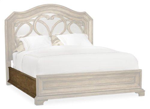Bedroom Solana King Upholstered Panel Bed