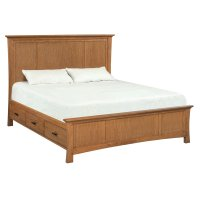 LSO Prairie City Cal-King Mantel Storage Bed Product Image